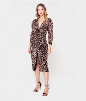 VESTIDO ANIMAL PRINT ANGELICA